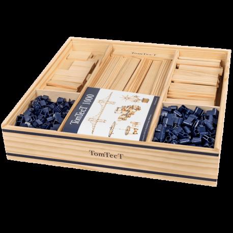 Boîte 1000, bois, construction, planchettes, développement, enfants, kapla